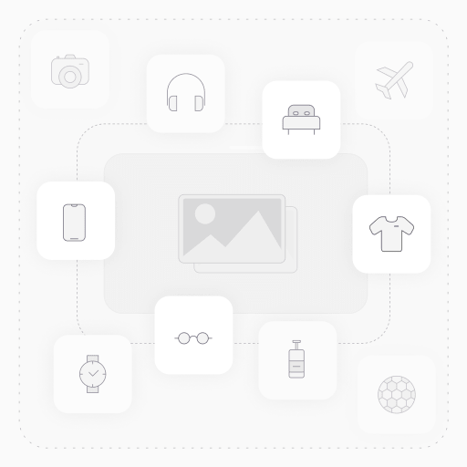 Schneider Electric App.box round ø65x45 IP20 yellow